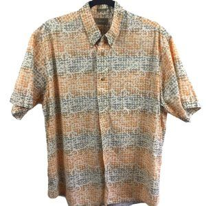 Natural Issue Casual Button down Shirt, Size Large